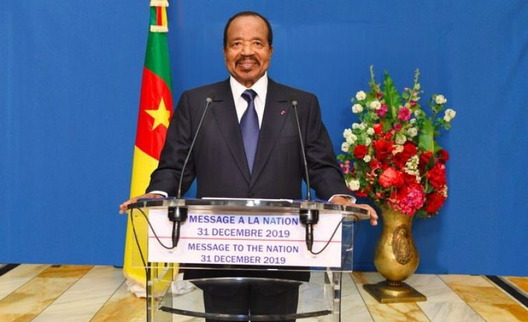 Un Cameroun nouveau prend forme, affirme Paul Biya