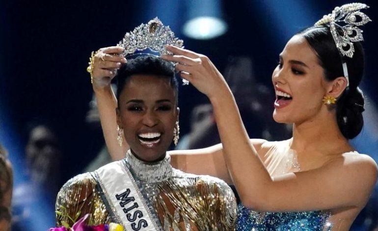 Zozibini Tunzi, Miss Afrique du Sud, sacrée Miss Univers 2019
