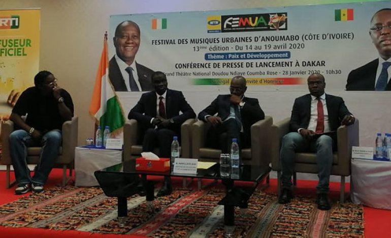 Le Sénégal, pays à l'honneur au 13e FEMUA du 14 au 19 avril à Abidjan