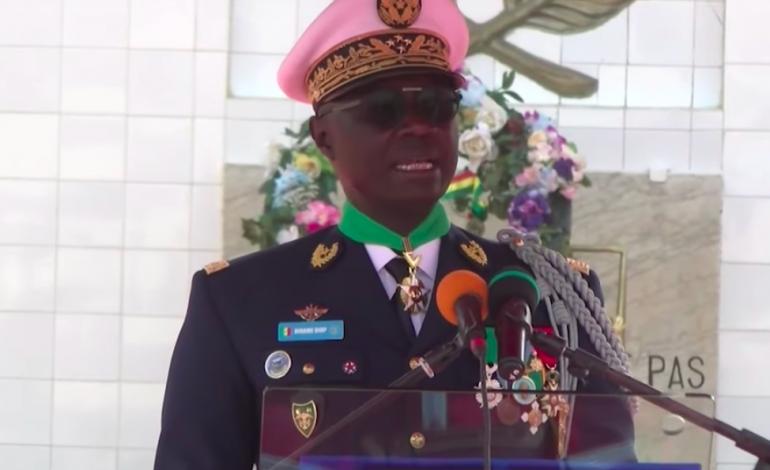 Le CEMGA Birame Diop officiellement installé par Sidiki Kaba