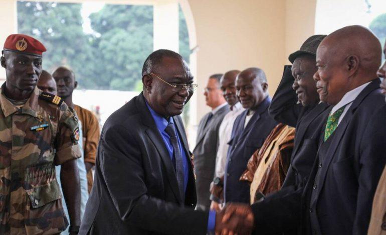 Michel Djotodia, ex-chef rebelle et ancien président Centrafricain est de retour au pays