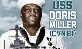 Doris Miller entre dans l'histoire de la marine américaine en donnant son nom à un porte-avions américain