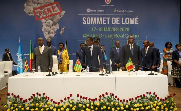 Macky Sall au sommet sur la lutte contre les faux médicaments à Lomé