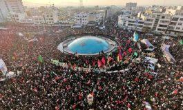 Une marée humaine rend hommage au général Qassem Soleimani à Téhéran