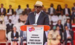 Le parc éolien de Taïba Ndiaye inauguré par Macky Sall