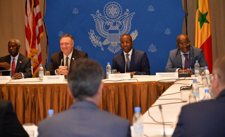 Les USA signent cinq accords de partenariat avec le Sénégal