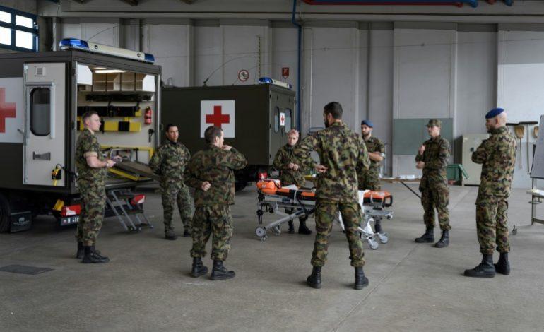 En Suisse, des réservistes mobilisés pour la première fois depuis 1939 pour lutter contre le coronavirus