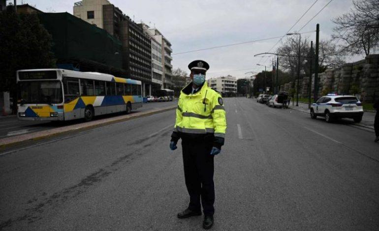 La Grèce se réveille dans le confinement général