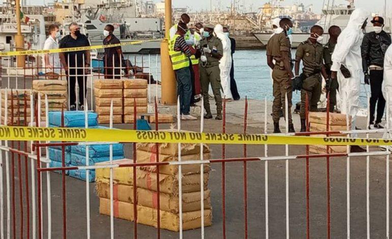 La marine Nationale Sénégalaise saisie plus de cinq tonnes de haschisch au large de Dakar