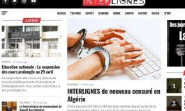 Le site Interlignes censuré en Algérie