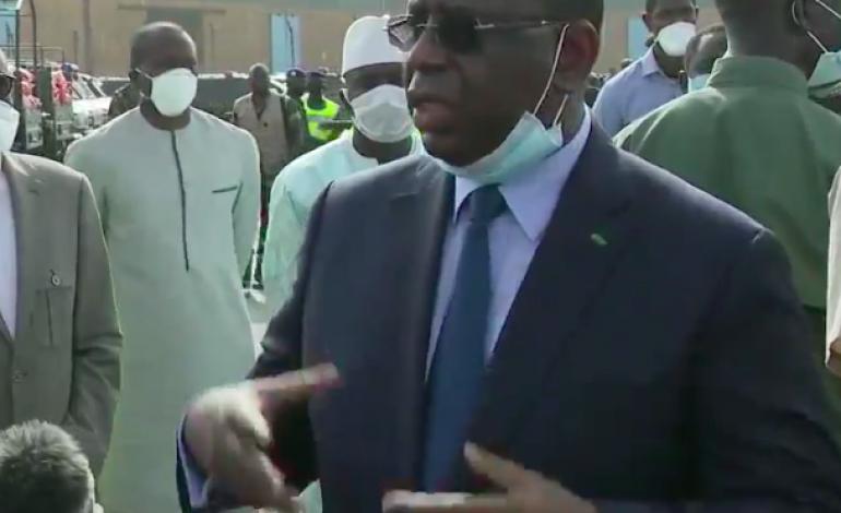 Macky Sall: Si la maladie arrive à un certain niveau au Sénégal, on va vers le confinement général
