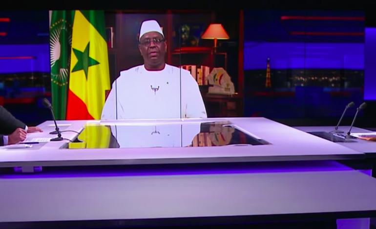 L'accroissement des cas communautaires est plus que préoccupant déclare Macky Sall sur les chaînes françaises