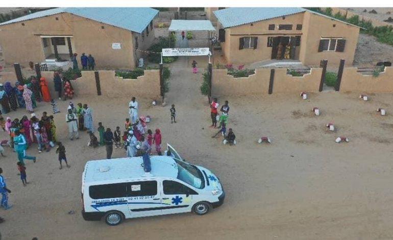 FALA offre une ambulance, des fournitures scolaires et du matériel de sport à Tiguéré Ciré (Matam)