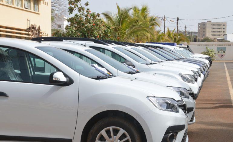L'Union Européenne fait un don de 26 véhicules à la Police Judiciaire Sénégalaise