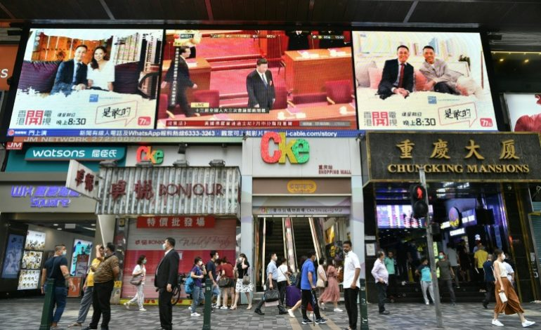 La pression internationale monte sur la Chine à propos de Hong Kong