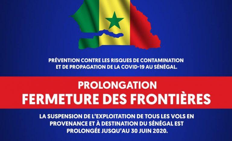 Les frontières aériennes sénégalaises fermées jusqu'au 30 juin