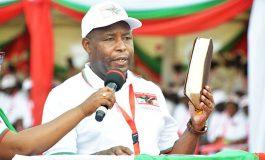 Evariste Ndayishimiye accorde une grâce présidentielle pour 40% des détenus du pays