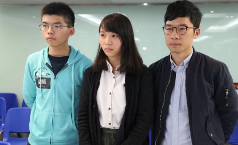 Joshua Wong plaide coupable à son procès