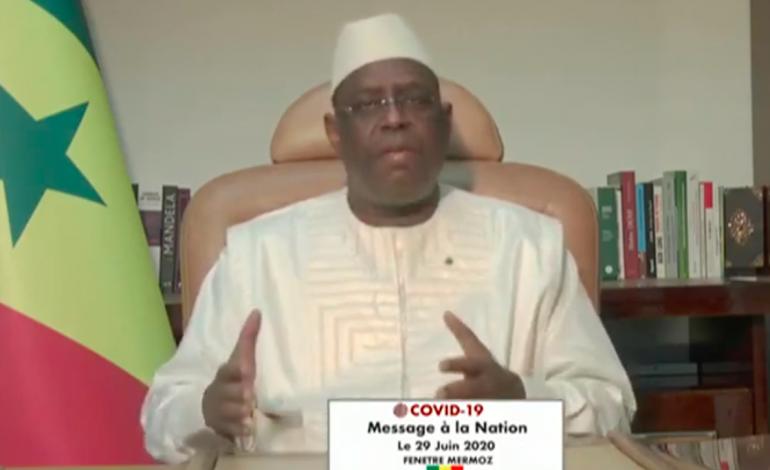 L'état d'urgence et le couvre-feu levés au Sénégal à partir du 30 juin