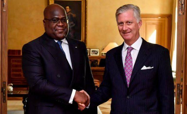 Le roi Philippe exprime pour la première fois des «regrets» pour le passé colonial de la Belgique en RDC