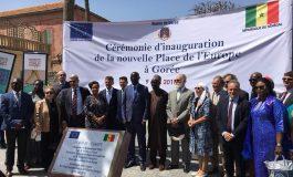 La Place de l'Europe à Gorée devient la Place de la Liberté et de la Dignité Humaine