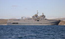 Le porte-hélicoptères amphibie (PHA) Tonnerre, est de retour à Dakar