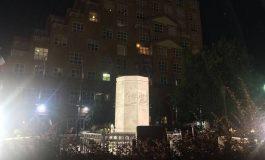 La statue de Christophe Colomb déboulonnée à Baltimore