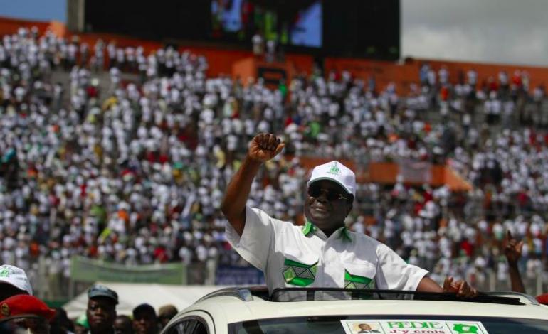 A 86 ans, Henri Konan Bédié désigné candidat de son parti à la présidentielle avec 99,7% des voix