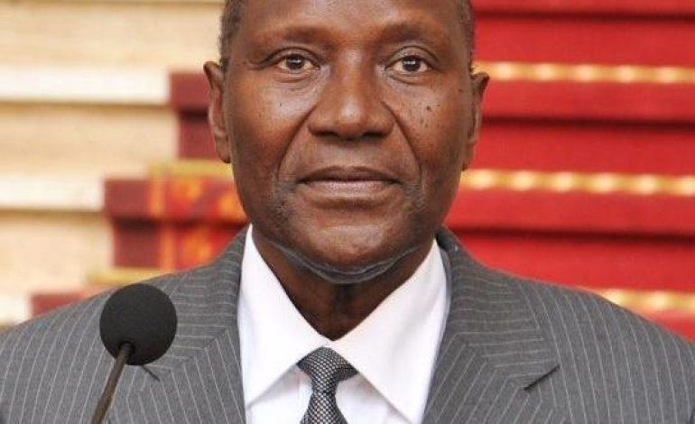 Le vice-président ivoirien, Daniel Kablan Duncan a présenté sa démission