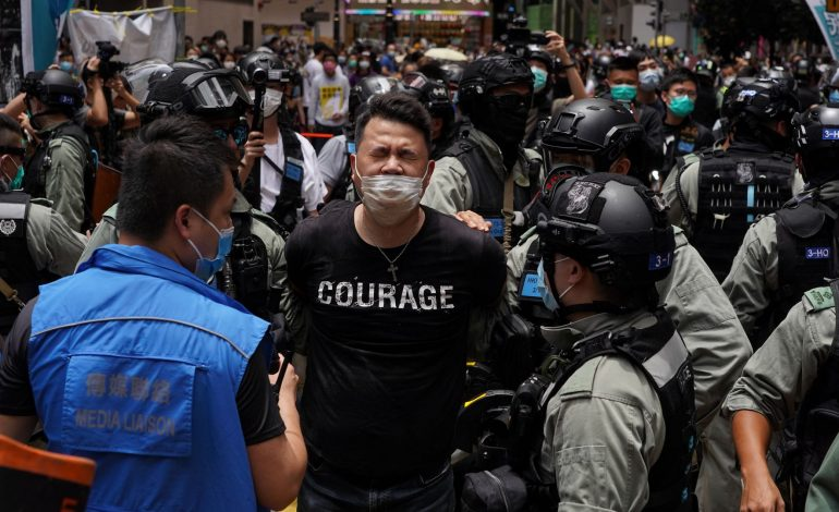 Neuf organisateurs des manifestations monstres à Hong Kong  jugés coupables
