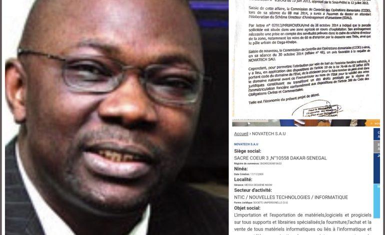 Meïssa « copie » Babacar Ngom à Sindia: l'histoire des 90 ha à «Nova Tech» informatique pour usage agricole…
