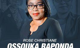 Rose Christiane Ossouka Raponda, première femme nommée chef du gouvernement