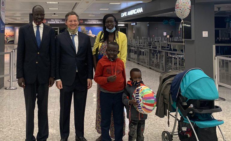 Peter Biar Ajak, le défenseur des droits humains  au Soudan du Sud se réfugie aux États-Unis