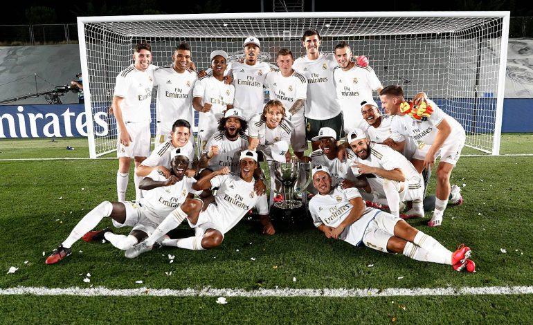 Le Real de Madrid de Zinedine Zidane brise l'hégémonie du Barça