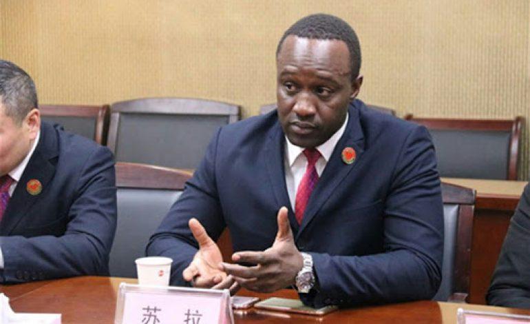 Ababacar Niang, médiateur au bureau international de médiation de Yewu