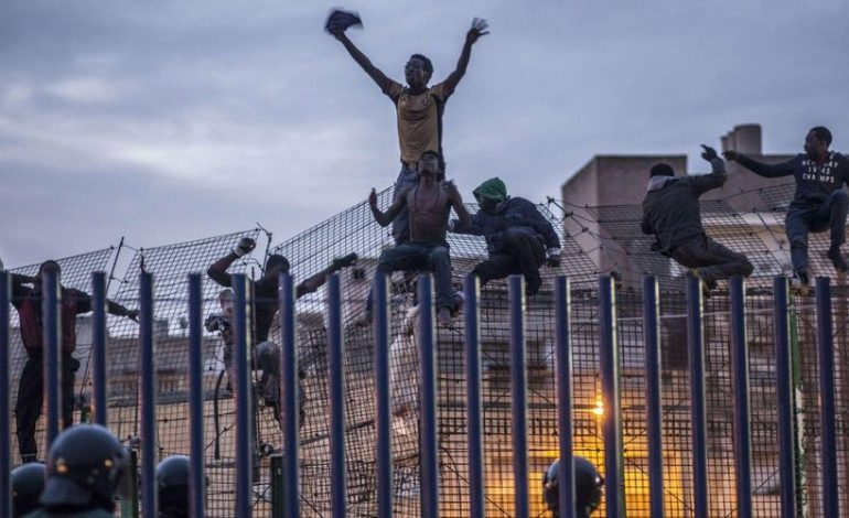 Plus de 200 migrants subsahariens ont pénétré dans l'enclave de Melilla