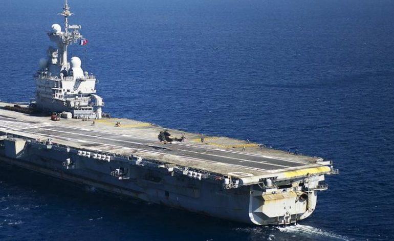 Les USA s'inquiètent du déploiement militaire français en Méditerranée