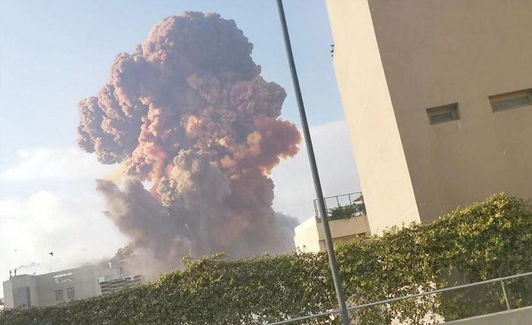Premier bilan d'au moins 73 morts et plus de 3700 blessés après l'explosion dans la capitale libanaise