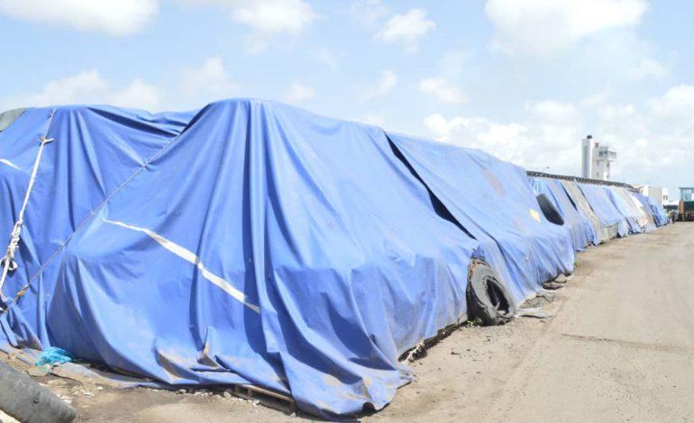 Les 3050 tonnes de nitrate d'ammoniac sont en transit, leur enlèvement est imminent déclare le Port de Dakar