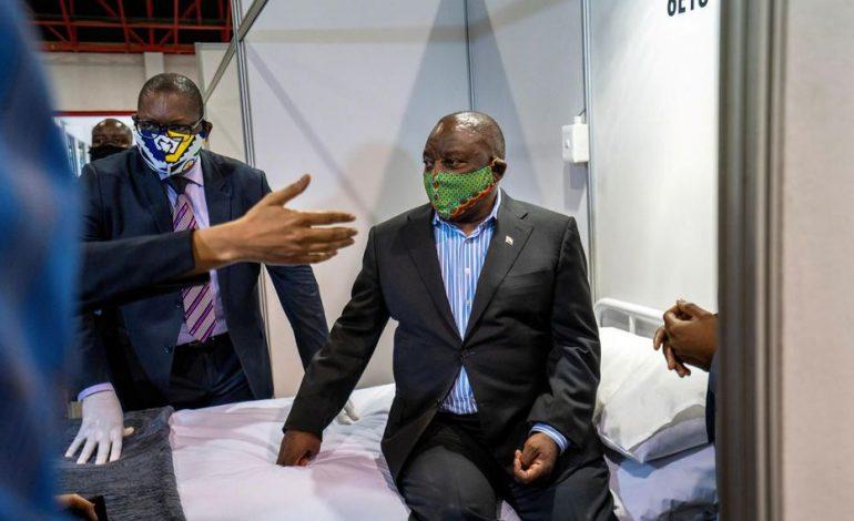 Le président Cyril Ramaphosa reconnaît la corruption de l'État quand il était vice-président