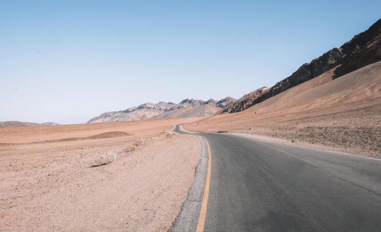 Une température record relevée dans la Vallée de la mort: 54,4°C