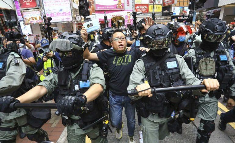 Le militant pro-démocratie hongkongais, Tam Tak-Chi inculpé pour «propos séditieux» en vertu d'une loi de 1938