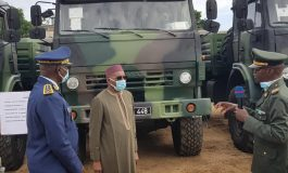 Plus d'une centaine de divers matériels militaires réceptionnés par l'Armée Sénégalaise