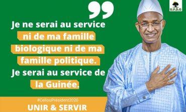 Cellou Dalein Diallo annonce sa victoire dès le premier tour de la présidentielle Guinéenne