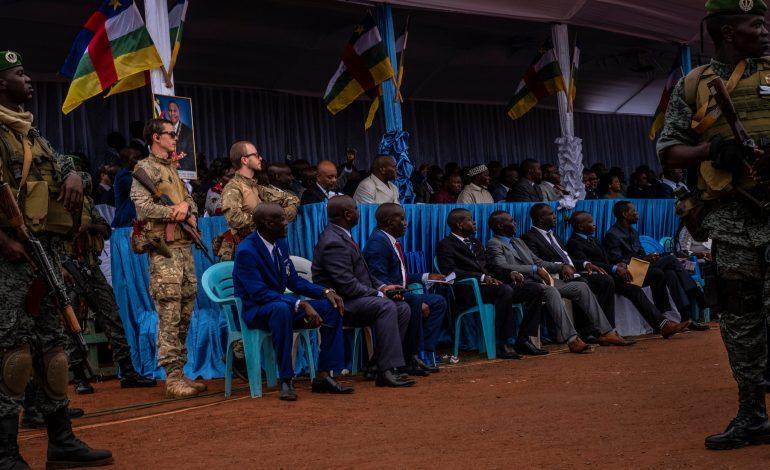 La Russie livre des blindés à l'armée centrafricaine