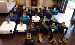 Environ 16 millions de dollars en cash saisis dans une maison au Guatemala
