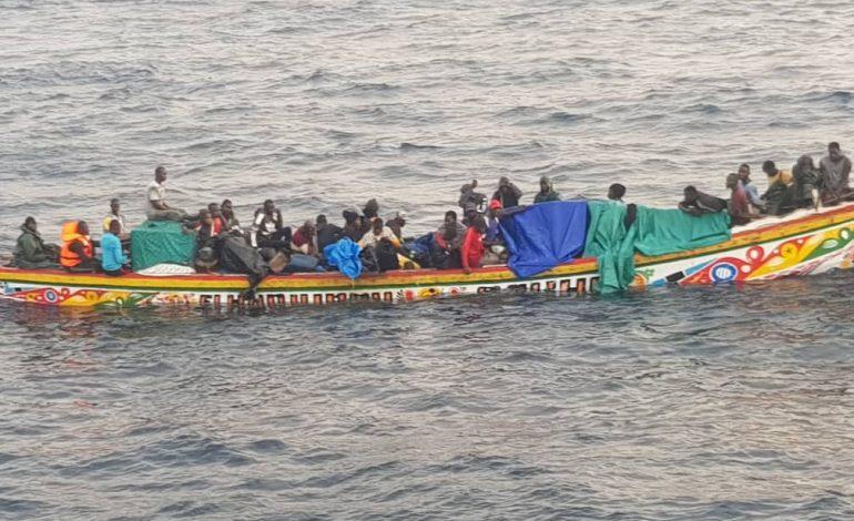 107 migrants secourus au large des côtes des Canaries ce week-end