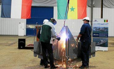 Le groupe Piriou commence la construction des trois patrouilleurs sénégalais