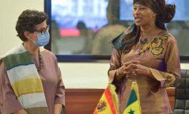 """Arancha González Laya: """"Quiconque emprunte les routes illégales devra retourner dans son pays"""