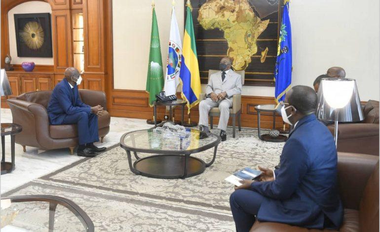 Abdoul Ciré Dia, ambassadeur du Sénégal au Gabon a fait ses adieux à Ali Bongo Ondimba